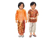 Magnetic paper dolls (Indonesia)