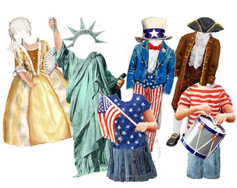 Independence Day (clothes set for boy and girl size 5)