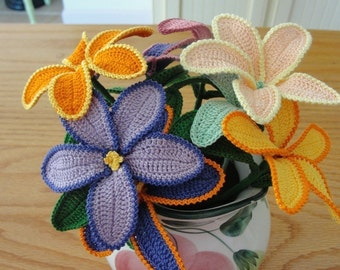 "Crochet ""Fun Flower Pattern""  Instant Download"