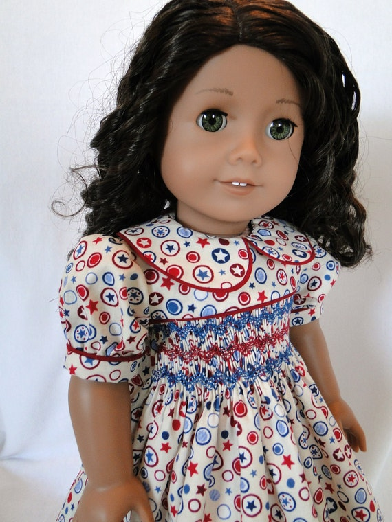 4th of July dress for the American girl doll