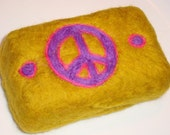 Peaceful Felted Soap