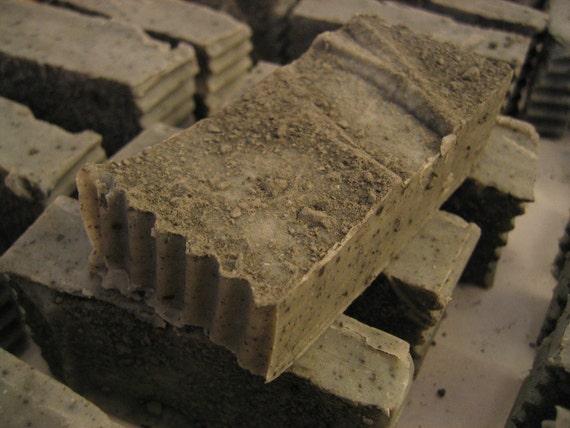 Organic Handmade Clay Tea Tree Acne Face Soap - Only Essential Oils Used - Featuring Glaciomarine Clay 5-6 oz. bar