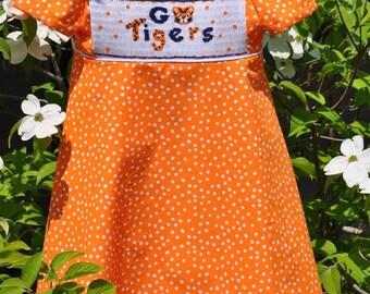 Children's Smocked Dress - Annika - Available