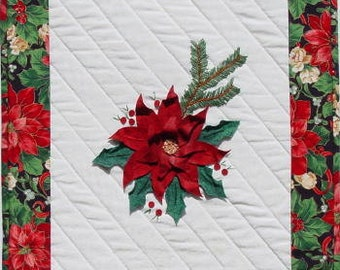 Poinsettia - Petal Play by Joan Shay - Applique Quilt Block Pattern