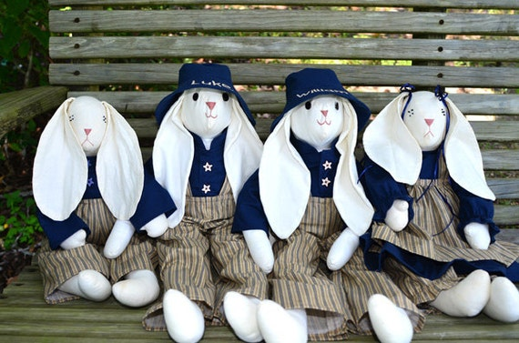 Children's Stuffed Toy - Rabbits Galore