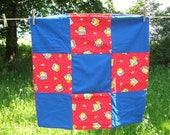 Bob The Builder Soft Baby Sized Quilt
