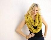 the MINI EGO scarf / color SUNFLOWER
