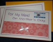 Handmade Friend Mother's Day card