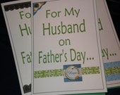 Father's Day card only a Wife Could Give