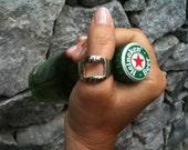 Open your beer  -  metal ring