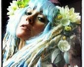 Blue Seanymph Wig