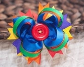 Rainbow Delight Boutique Hairbow