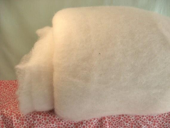 2 lb Pure Organic Wool Batting 2 pounds