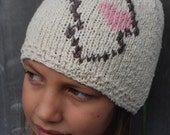 My Heart is in Africa Knitted Hat