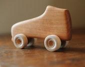 Wooden Toy Roller Skate