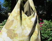 Boho Tote Bag/Purse-Yellow Floral-RESERVED FOR GEN