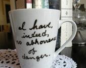 Dangerous Edgar Allan Poe Mug