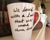 RESERVED FOR laceangel7-More Than Love Edgar Allan Poe Mug