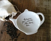 Perhaps You Would Like Some Tea Jane Austen Quote Tea Bag Holder Gift Set