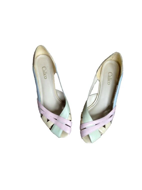 Pastel Petals Mini Heels