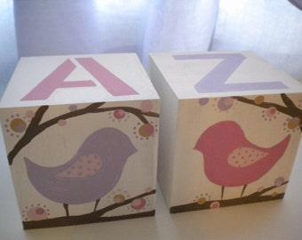 Bookends for Children- LOTSA DOTS BIRDS Theme