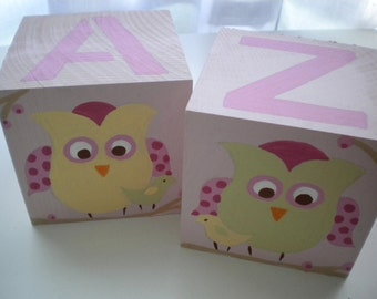 Bookends for Children- OWLS N BIRDS Theme