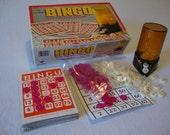 Vintage Bingo Set 1981 Super Cute Party Game