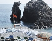 Beach Photograph - Ocean, Seaside, Italian Summer - Beside the seaside