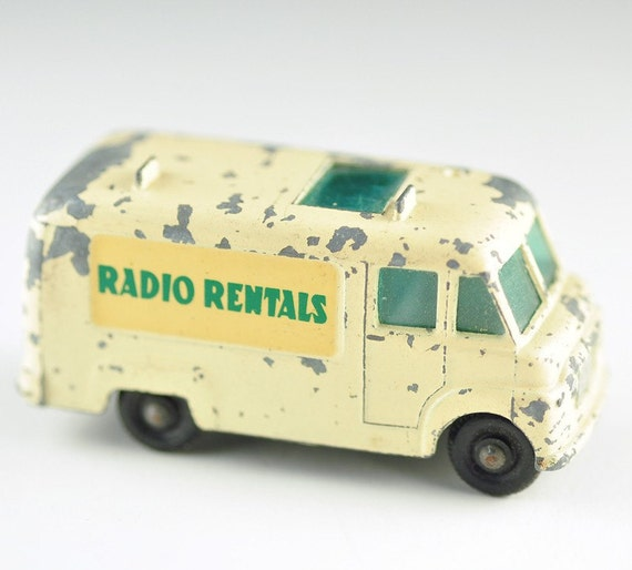 Matchbox Car-T.V. Service Van- Vintage, Made in England),Series 62 , Made By Lesney