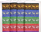 10 Greyhound Fabrics, Art Nouveau, Your Choice - will custom print after purchase