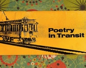 Poetry in Transit book of placards