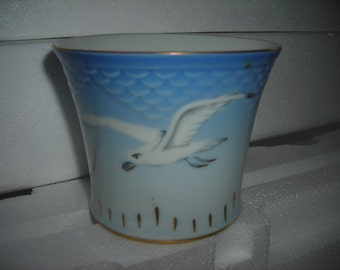 vintage cup cigar round seagull bing & grondahl trinket