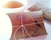 Tea Wedding Favors. Bridal Shower Favors. Tea Party Favors. Loose Tea. Set of 50.