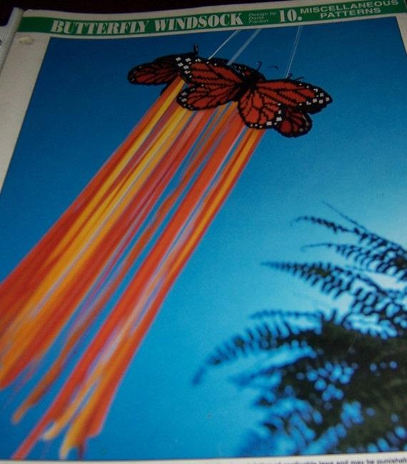 Butterfly Windsock