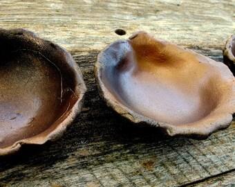Rustic Copper Ceramic Bowl Set