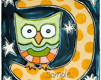 Good Night Owl- Original Painting