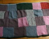 Pet blanket - crochted