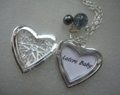 Fifty Shades of Grey, 50 Shades of Grey Inspired, Heart Locket Necklace, LATERS BABY