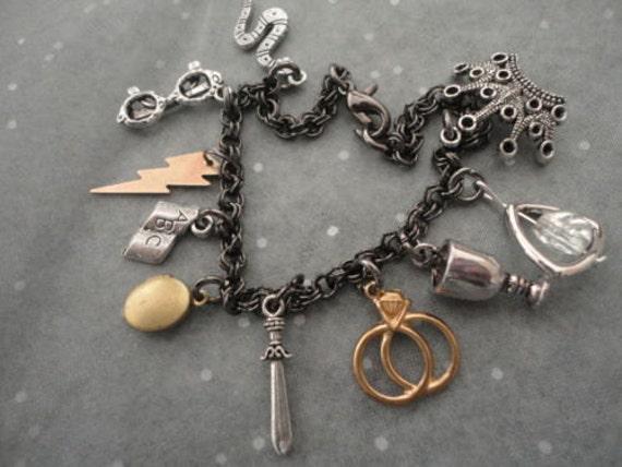 Horcrux Charm Bracelet Charm Bracelet on Etsy