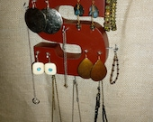 Upcycled Jewelry Organizing Display (S)