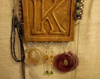 Upcycled Jewelry Organizing Display (K)