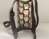 Bonehead  Insulated Water Bottle with Adjustable Strap