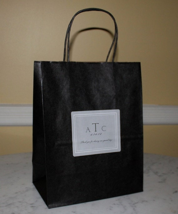 Items For Wedding Gift Bag : Items similar to 12 Wedding Welcome Bags Gift bags for out of town ...