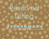Reserved Listing for Whimbrella