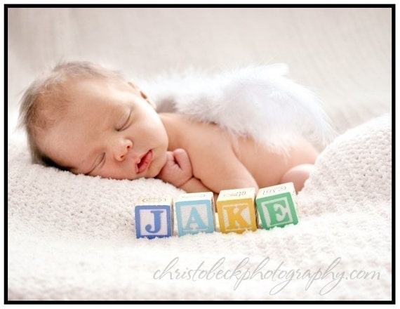 Sprouts ... Tiny Angel newborn wings for infant portraits and professional photography and photo prop