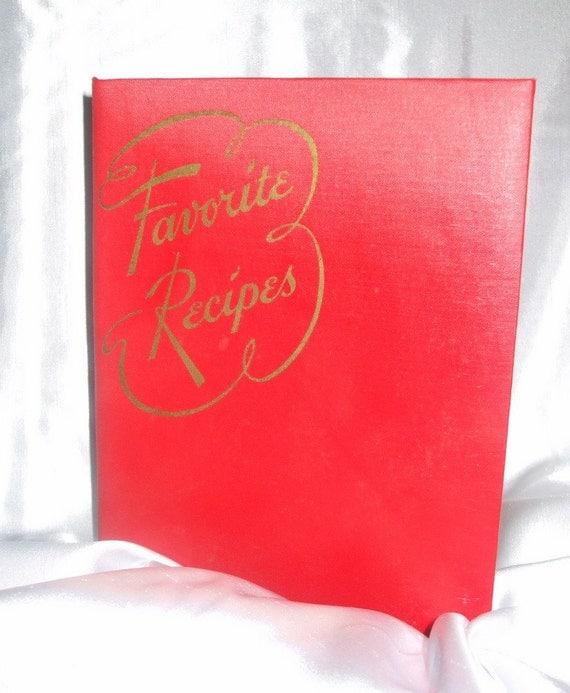 Heirloom Recipe Binder Book - Retro