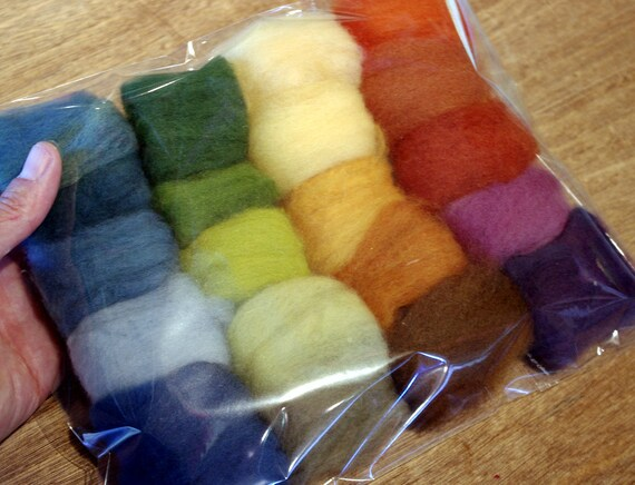 Plant-dyed Fairy Wool