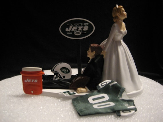wedding cake toppers in new york items similar to new york jets wedding cake topper 26513