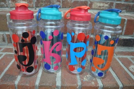 Personalized Water Bottle BPA FREE