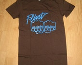 flint handmade knuckles logo shirt